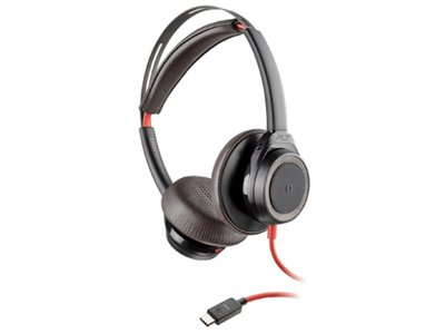 Plantronics Blackwire 7225 USB-C Headset, Zwart