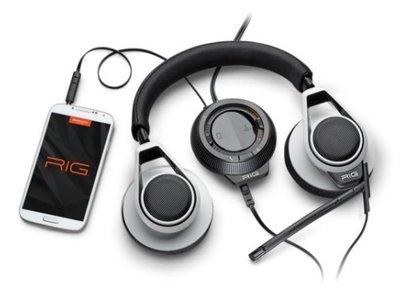 Plantronics RIG headset White